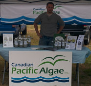 Canadian Pacific Algae at Farmer's Market