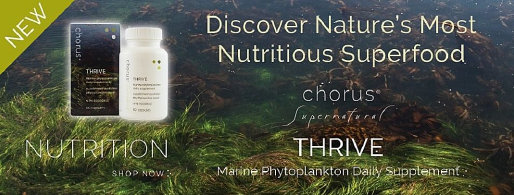 Chorus Thrive Marine Phytoplankton Health Supplement